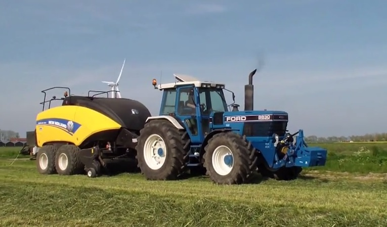 Ford 8830 New Holland Bb1290 Cropcutter