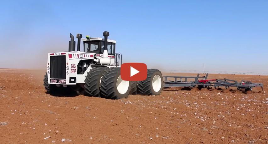 Big Bud Tractor : World s biggest tractor big bud v hp