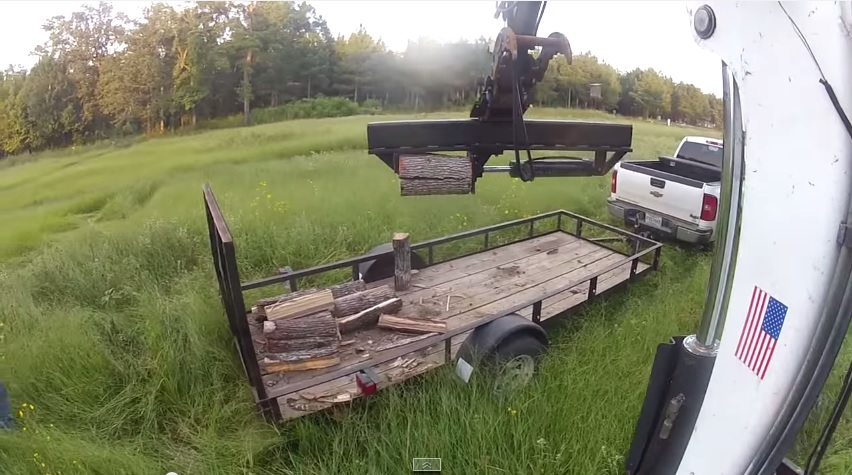 Excavator Log Splitter Bobcat Wood Mini Ex Midi Trackhoe