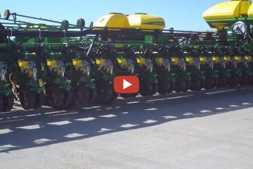 John Deere 54 Row Planter Worlds Biggest To Date