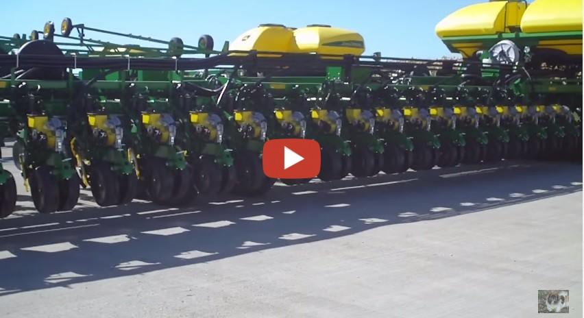 Biggest Seeder Of John Deere: John Deere 54 Row Planter~~worlds Biggest To Date