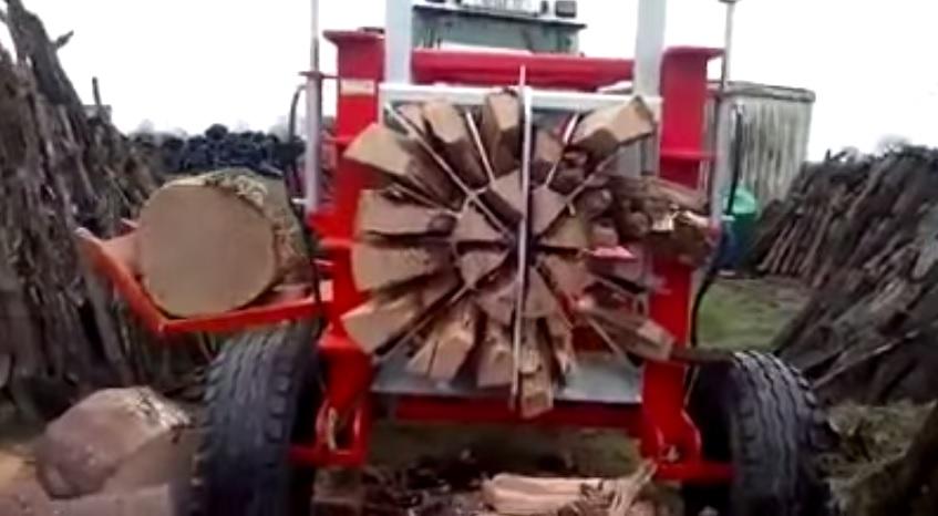 amazing wood cutting machine
