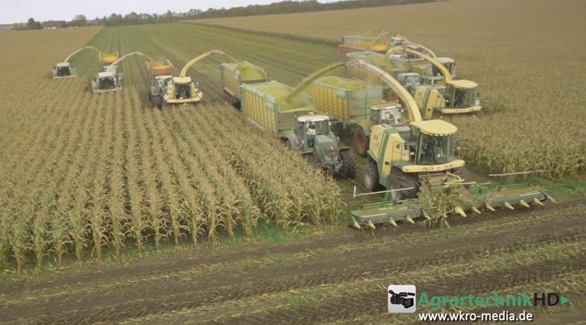 8 Choppers Claas Amp Krone Fendt Tractors