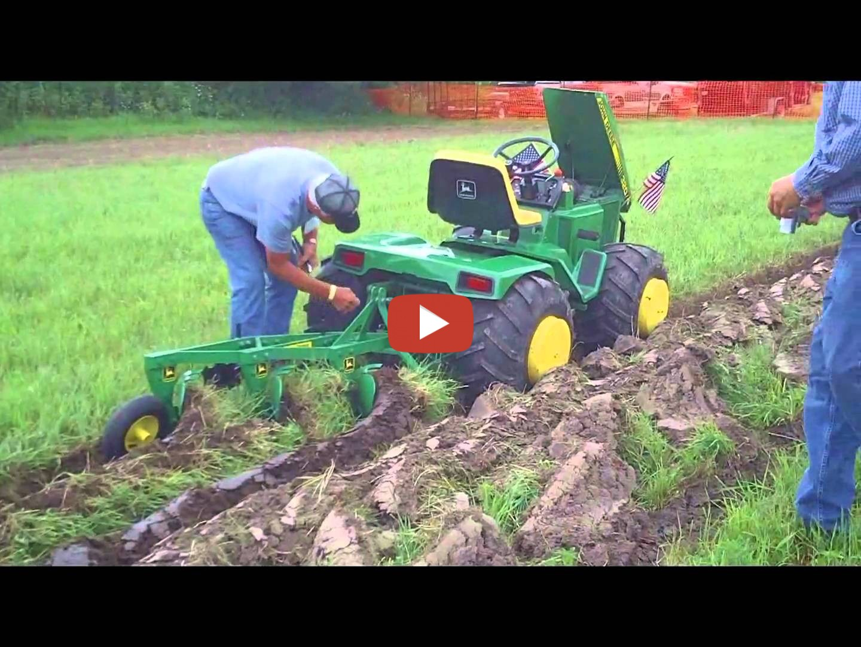 Custom John Deere Garden Tractor At Little G