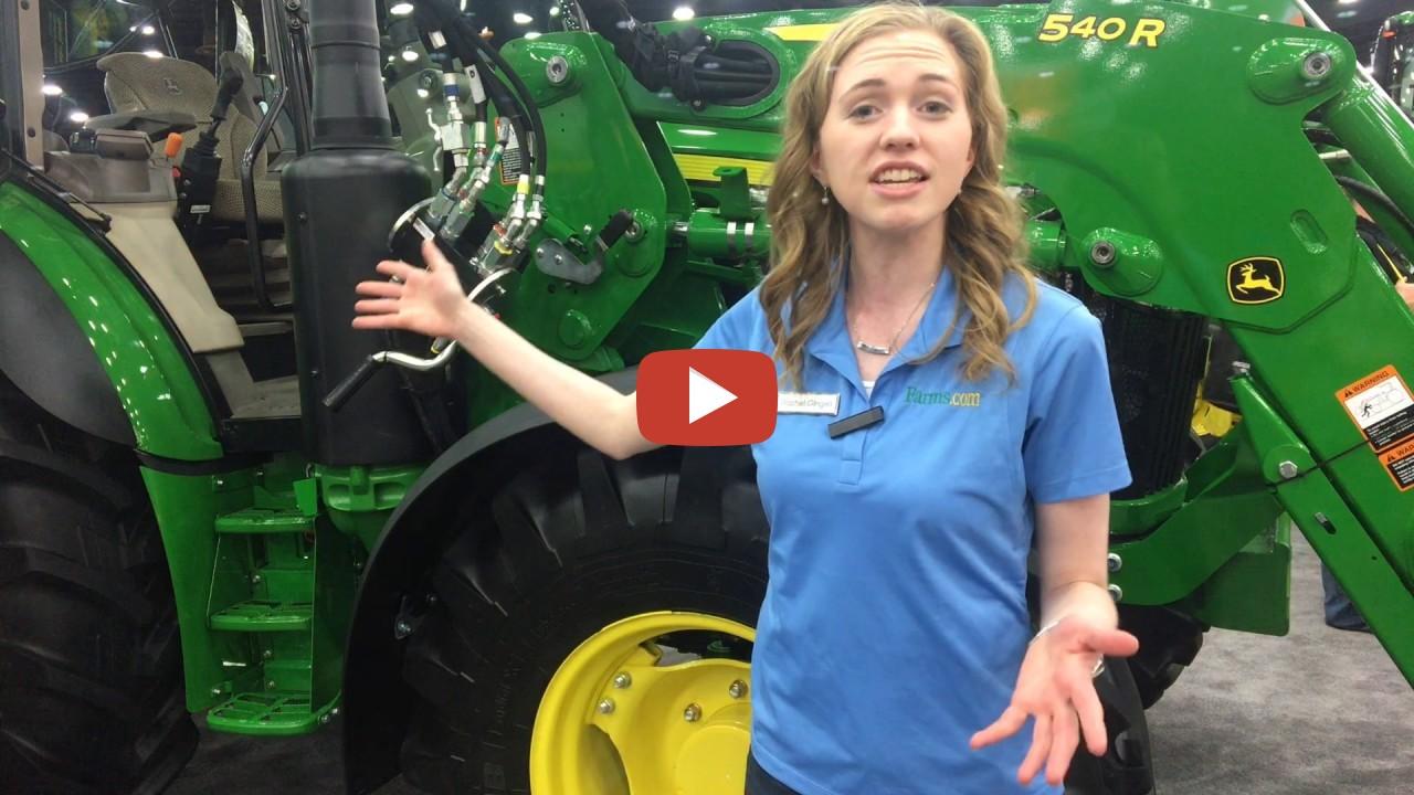 John Deere 5r Tractor Rachel Gingell At The National Farm