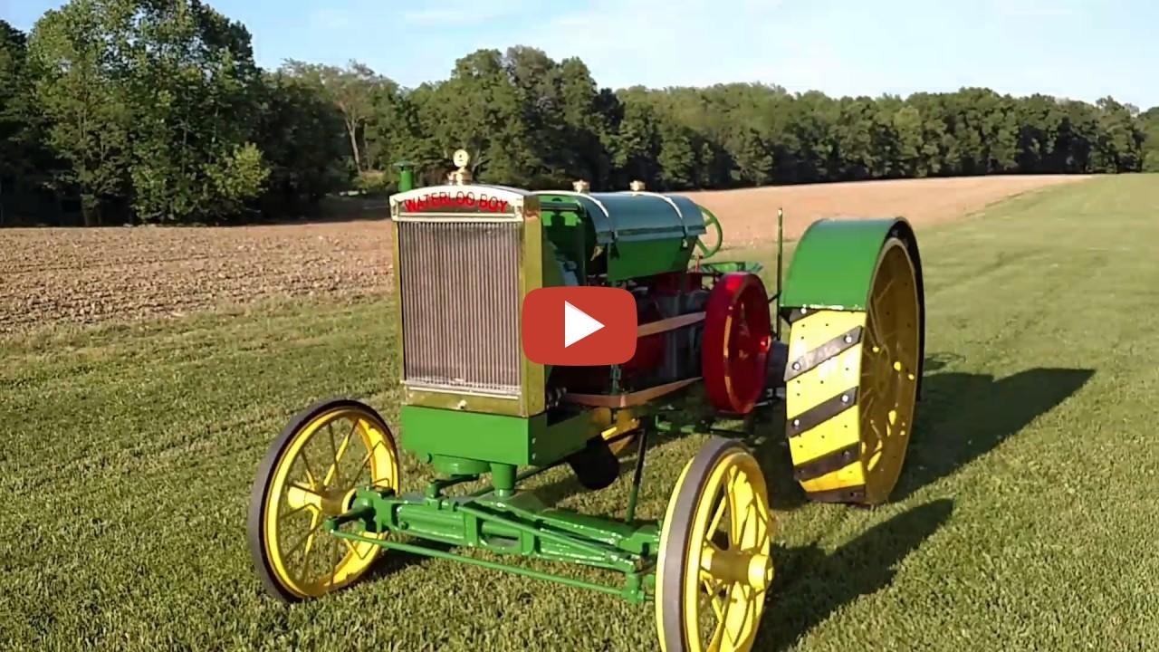First Robot Tractor Waterloo Boy