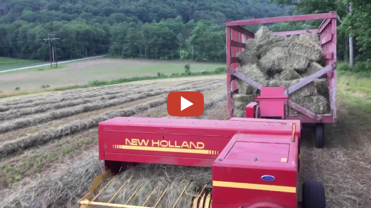 Image result for baling hay in PA