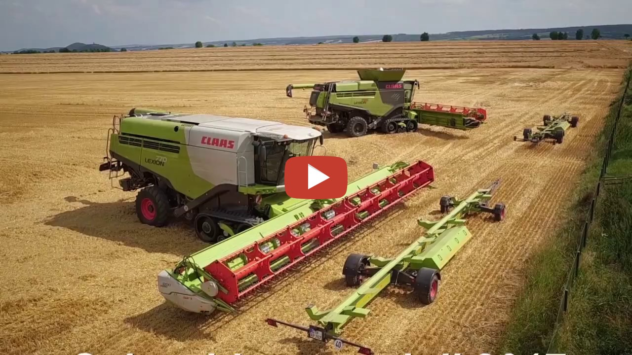 claas lexion 795 monster limited edition at work in germany. Black Bedroom Furniture Sets. Home Design Ideas