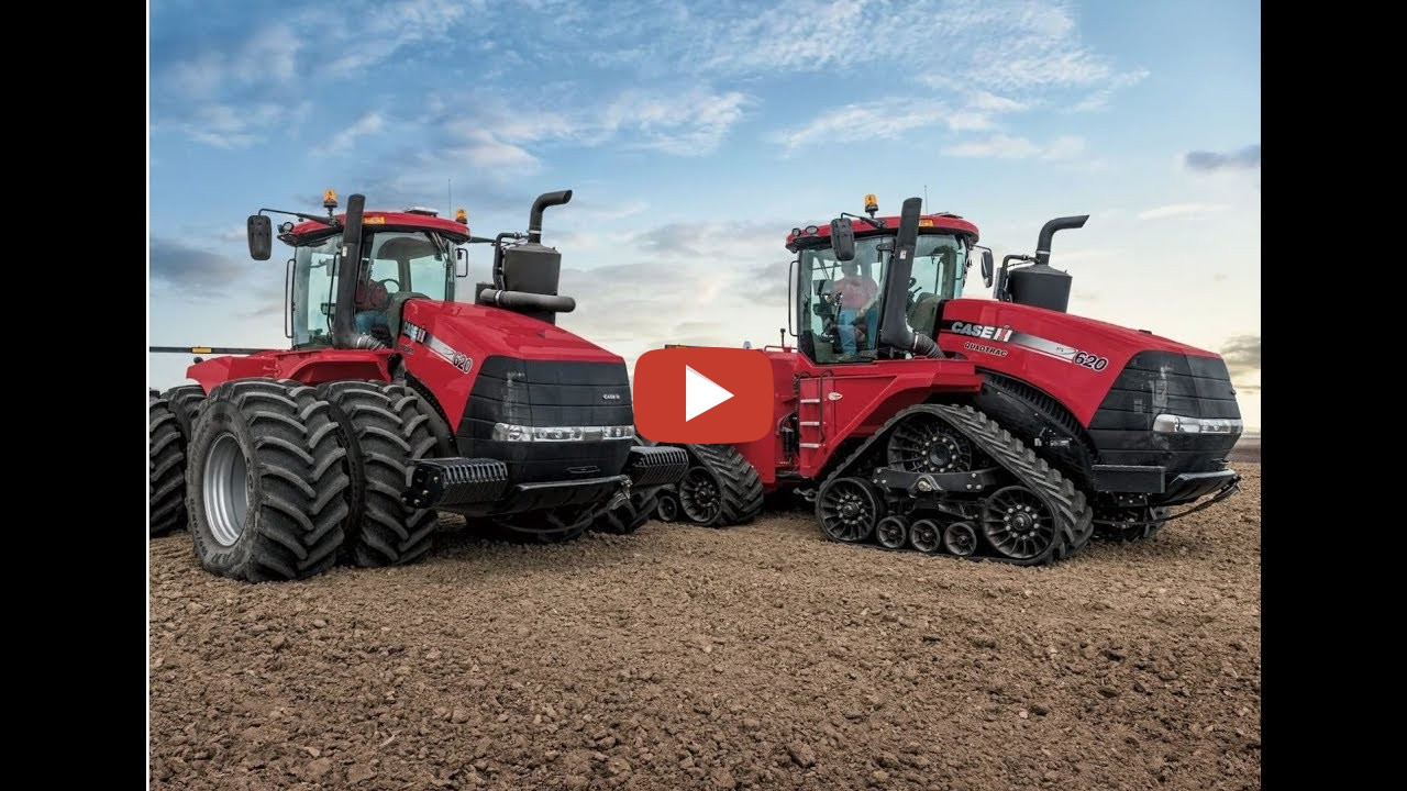 New Case Tractors : New case ih steiger series tractors cvxdrive