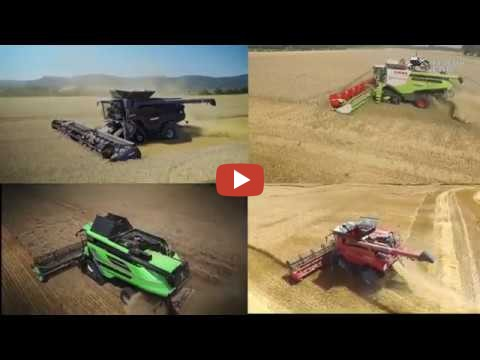 Biggest combine harvesters in the world John Deere S690i