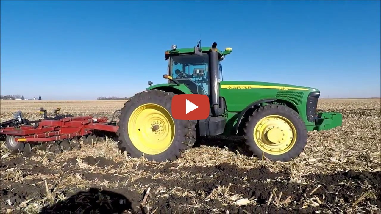 Fall Tillage With A John De