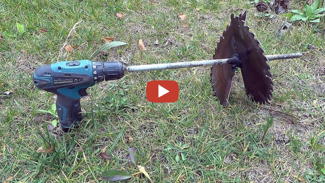 Cheap homemade earth auger - earth drill