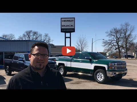 Machinery Pete visits with Blake Greenfield, owner of Blake Greenfield Chevrolet Buick in Wells ...
