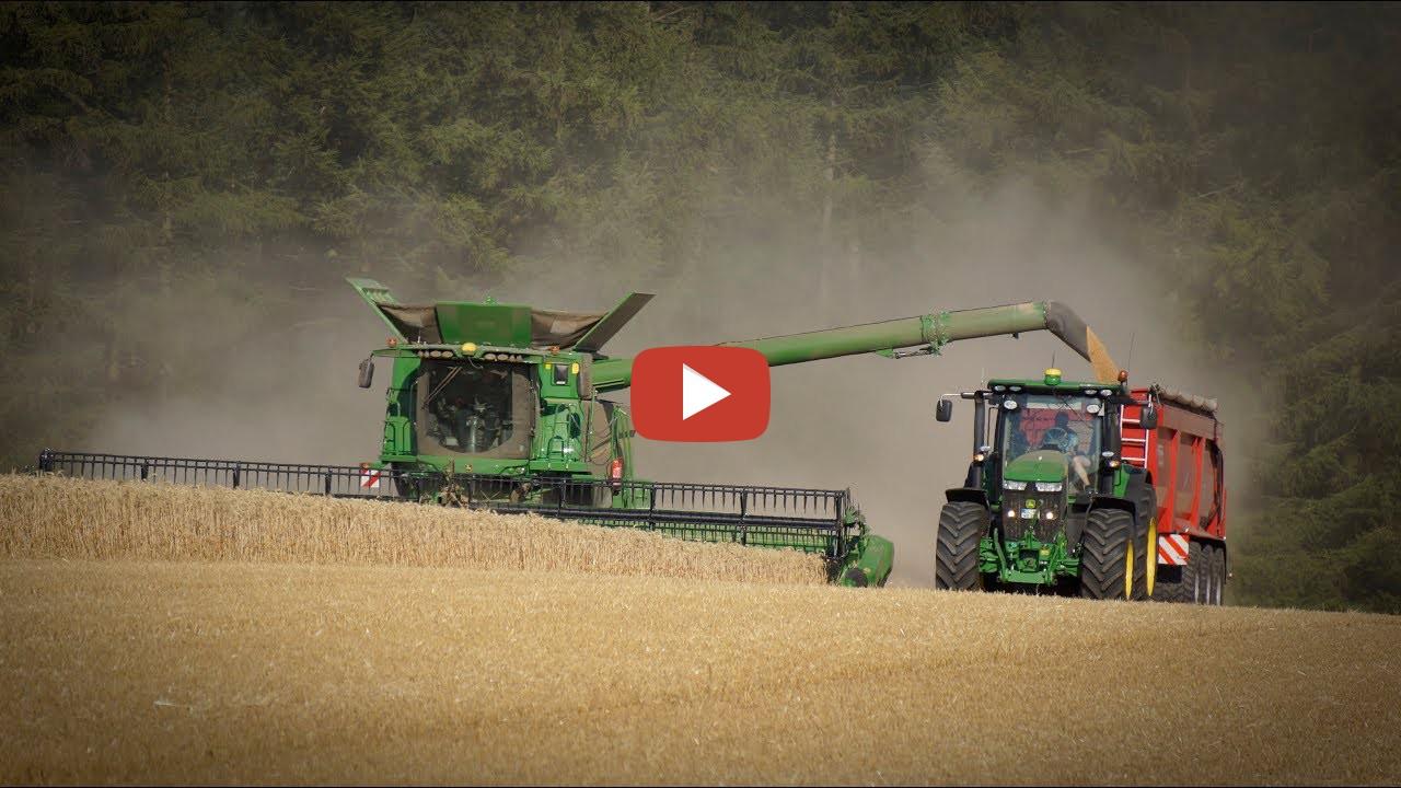 Grain Harvest In Germany Jo on John Deere 1050 Tractor For Sale