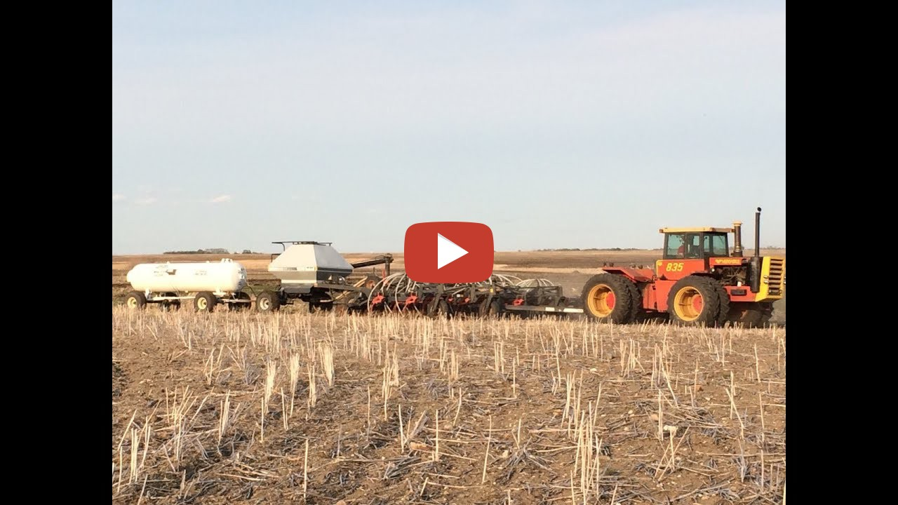 Getting The Air Seeder Ready! -- South Sask Farmer
