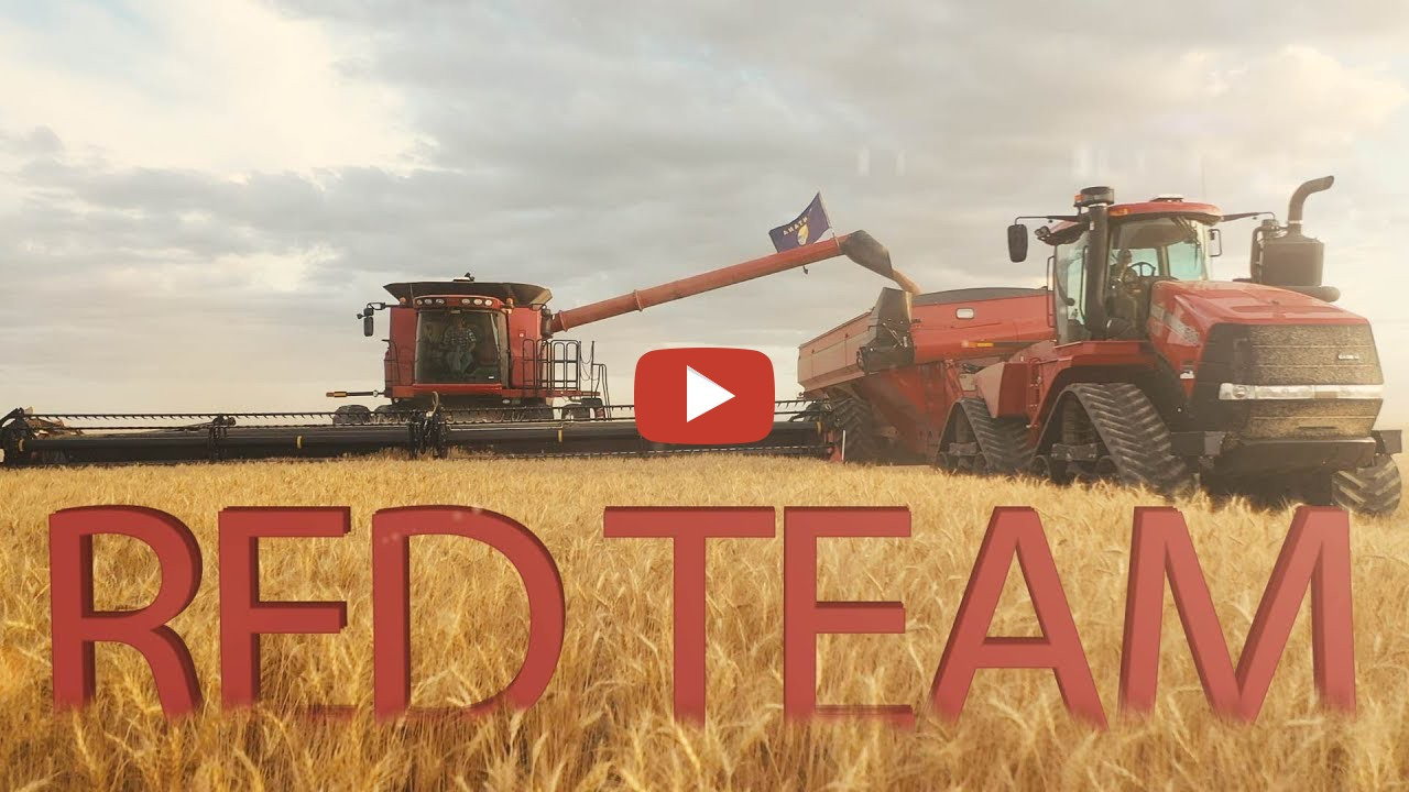 Welker Farms Inc -- Chasing Combines In A Quadtrac